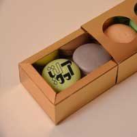 جعبه ماکارون کشویی ۵ عددی - هنرخانه آموتیا