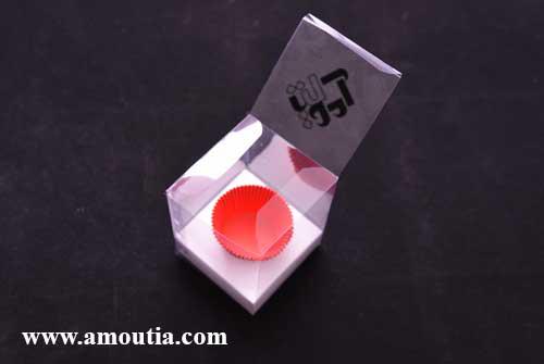 جعبه کاپ کیک تکی طلقی - سفارش اینترنتی جعبه کاپ کیک تکی طلقی