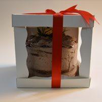 جعبه کیک سه تیکه - مناسب برای حمل انواع کیک