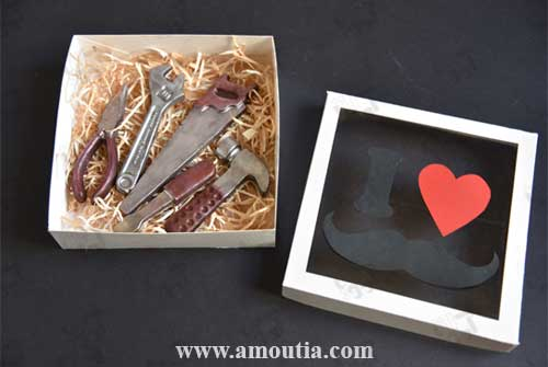 ابزار های شکلاتی کادوی ویژه روز پدر و روز مرد - هدیه روز پدر و روز مرد