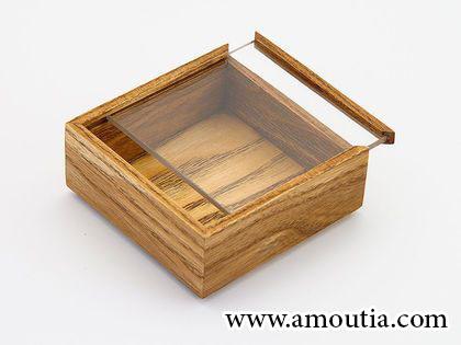 جعبه شکلات با درب کشویی طلقی