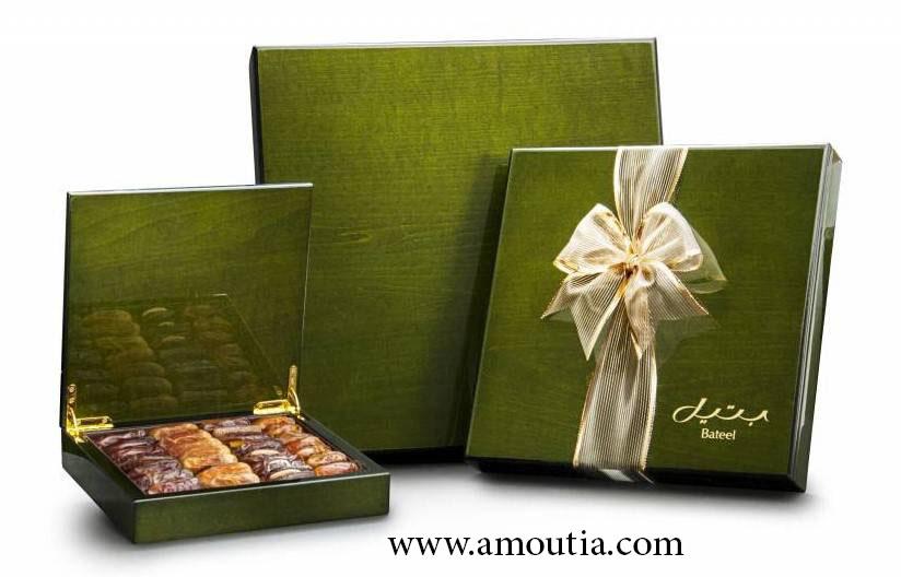 جعبه شکلات چوبی با رنگی لوکس و خاص
