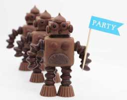آموزش ساخت ربات شکلاتی