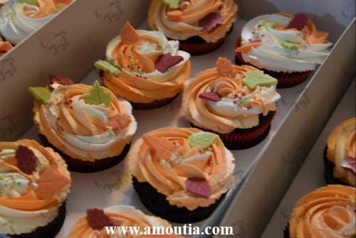 فروش کاپ کیک همراه با جعبه