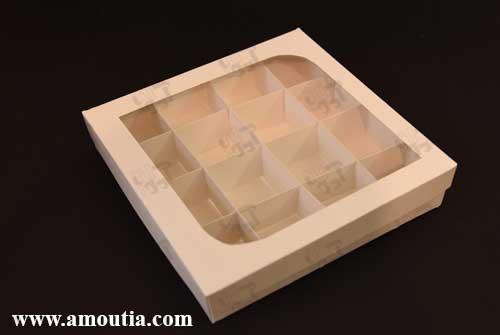سفارش اینترنتی جعبه شکلات و جعبه ترافل