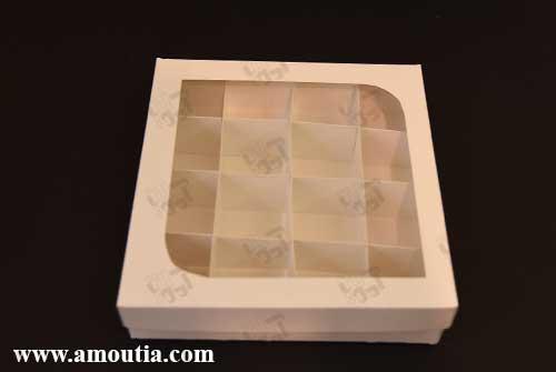 خرید آنلاین جعبه شکلات و جعبه ترافل مقوایی