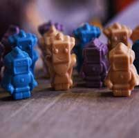 سفارش ربات شکلاتی - ربات های شکلاتی با طعم های خوشمزه و جذاب