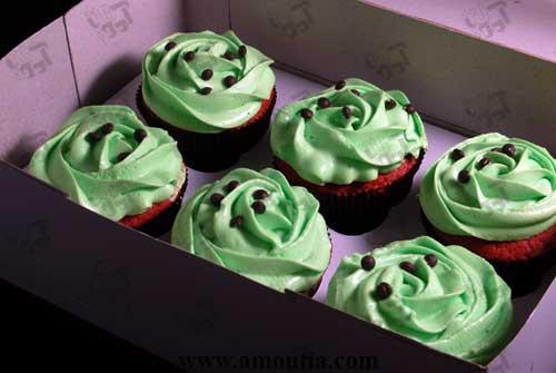 فروش آنلاین کاپ کیک خامه ای