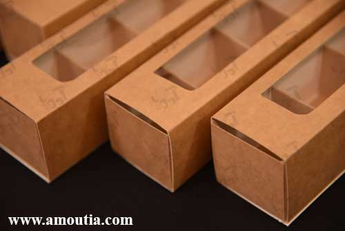 جعبه شکلات از نمای نزدیک