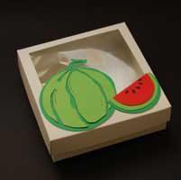 جعبه یلدا طرح هندوانه