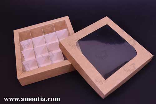باکس ترافل و شکلات 16 تایی