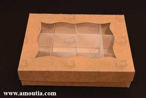 سفارش جعبه خالی برای شکلات دست ساز