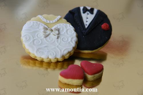 کوکی گیفت ازدواج و نامزدی طرح لباس عروسی